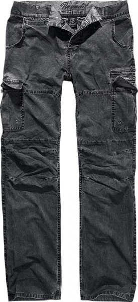 BRANDIT, Rocky Star pants, black / 1008