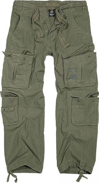 BRANDIT, Pure Vintage Trouser, olive / 1003
