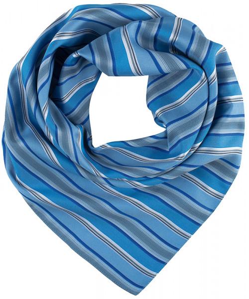 GREIFF Tuch gewebt blau/grau gestreift Accessoires 6901.9800.723 6901 9800 Accessoires