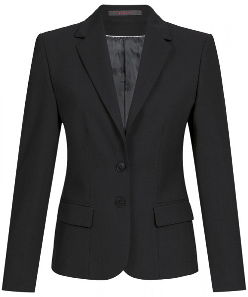GREIFF Damen-Blazer Comfort Fit schwarz Corporate Wear 1441.666.110 1441 666 Blazer