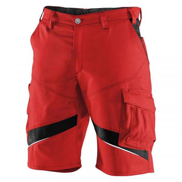 KÜBLER ACTIVIQ Shorts mittelrot/schwarz, 24505365