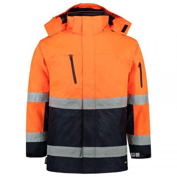 TRICORP, Parka EN ISO 20471 Bicolor, OrangeNavy, 403004