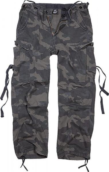 BRANDIT, M65 Vintage Trouser, darkcamo / 1001