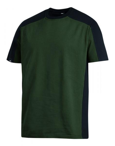 FHB MARC T-Shirt zweifarbig , oliv-schwarz