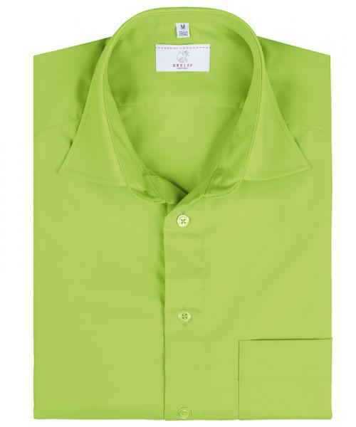 GREIFF Herren-Hemd 1/2 Regular F apfelgrün Blusen/Hemden/Strick 6666.1120.44 6666 1120 Hemd
