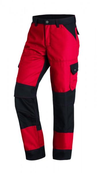 FHB MARKUS Arbeitshose, rot-schwarz