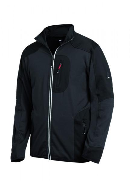 FHB RALF Jersey-Fleece-Jacke, anthrazit-schwarz
