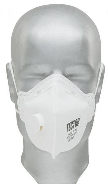 TECTOR, Faltmaske FFP2 mit Ventil / 4203