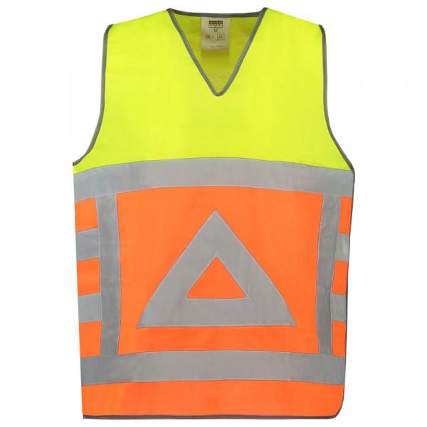 TRICORP, Warnweste Verkehrsregler, Oranyellow, 453001