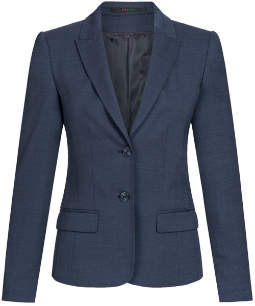 GREIFF Damen-Blazer Regular Fit pin point marine Corporate Wear 1424.2810.20 1424 2810 Blazer