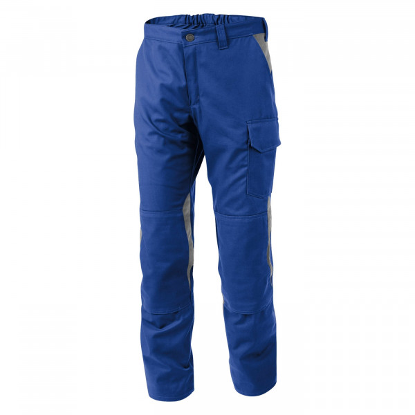 KÜBLER VITA cotton+ Hose kbl.blau/mittelgrau, 2L463421