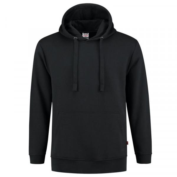 TRICORP, Sweatshirt Kapuze Waschbar 60°C, Black, 301019