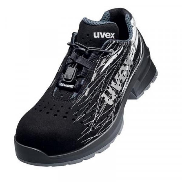 UVEX, 1 print Sicherheitsschuh S1 Halbschuh Weite 11 / 65568