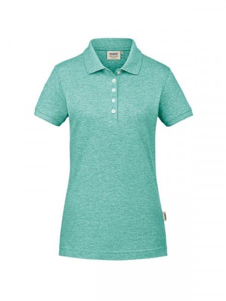 Hakro Damen-Poloshirt GOTS-Organic minze meliert 0231-326
