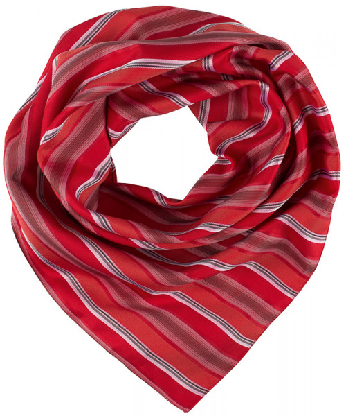 GREIFF, Tuch gewebt/rot/grau gestreift Art.Nr.6901