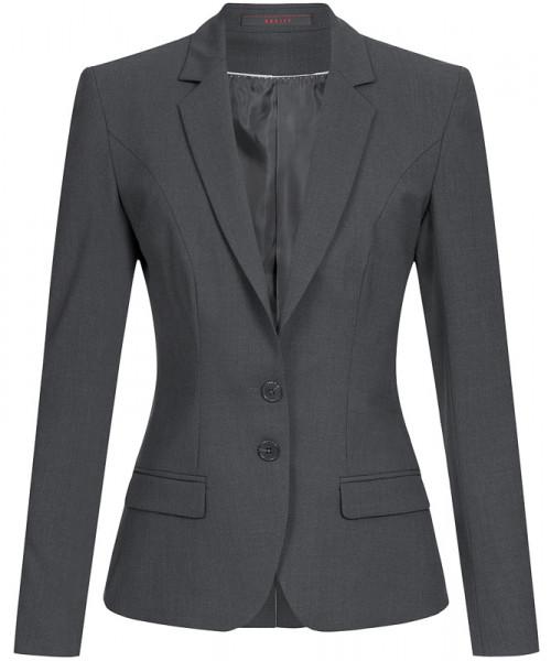 GREIFF Damen-Blazer Slim Fit anthrazit Corporate Wear 1411.666.111 1411 666 Blazer