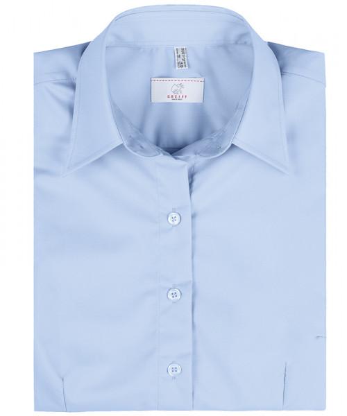 GREIFF, Damen-Bluse 1/2 Regular F/bleu Art.Nr.6516
