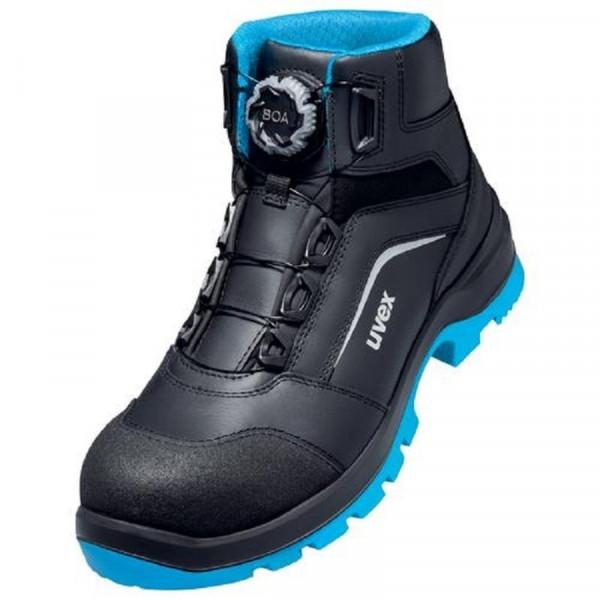 UVEX, Stiefel 95692 BOA schw/bl S3 PUR W11 / 95692