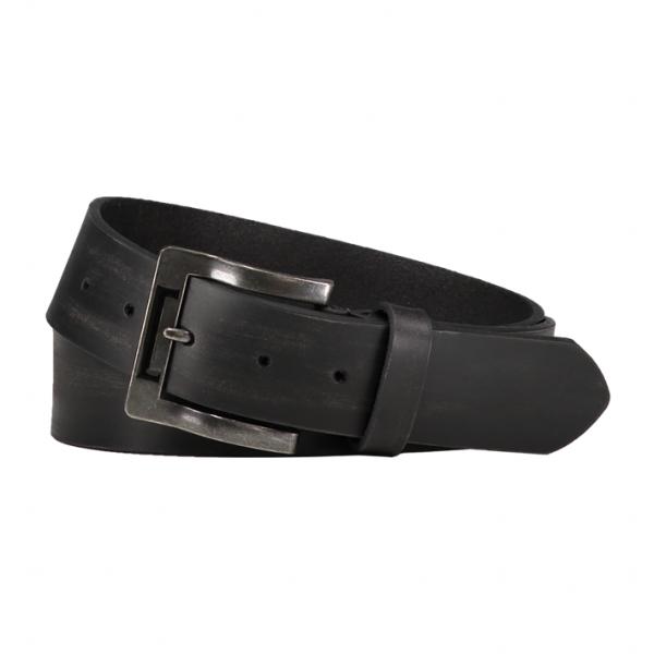 TRICORP, Gürtel Premium 100% Leder, Black, 654003