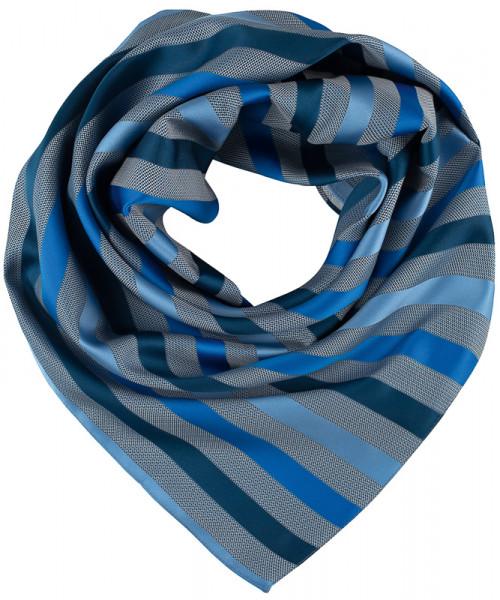 GREIFF, Tuch gewebt/dunkelblau gestreift Art.Nr.69