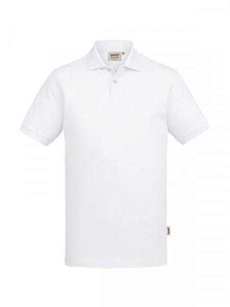 Hakro Poloshirt GOTS-Organic weiß 0831-001