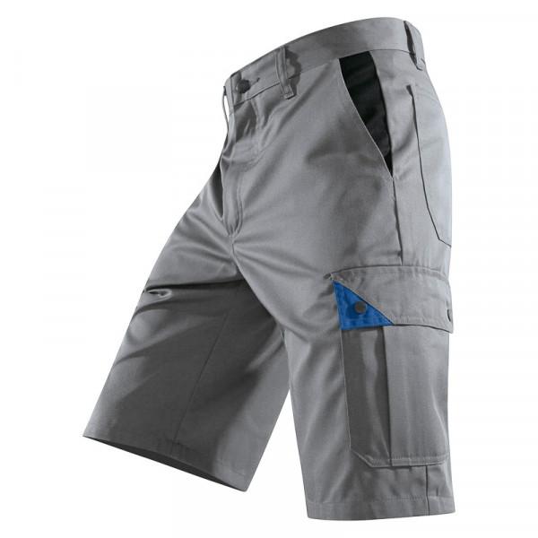 KÜBLER BRAND X Shorts grau/kbl.blau, 50815803