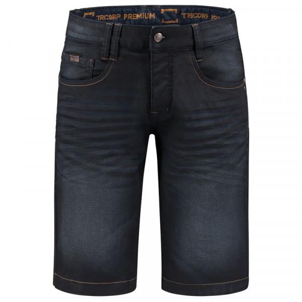 TRICORP, Jeans Premium Stretch Kurz, Denimblue, 504010