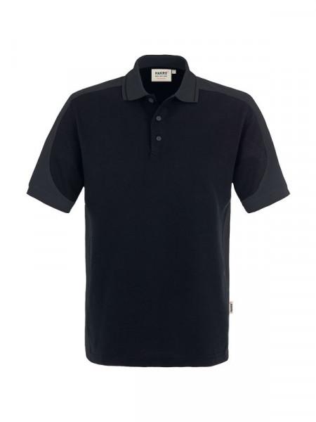 Hakro Poloshirt Contrast Performance schwarz/anthrazit 0839-005