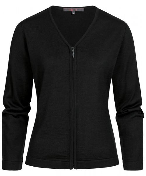 GREIFF Damen Strickjacke schwarz Blusen/Hemden/Strick 6052.5050.10 6052 5050 Jacke