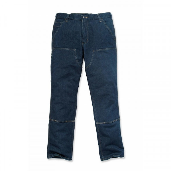 CARHARTT, DOUBLE FRONT DUNGAREE JEANS, ERIE, 103329