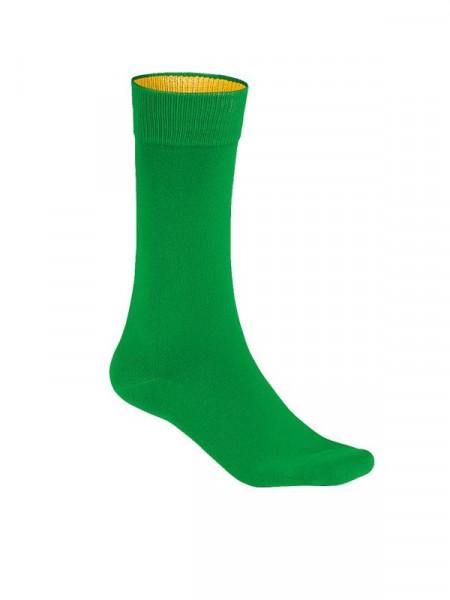 Hakro Socken Premium kellygrün 0933-029