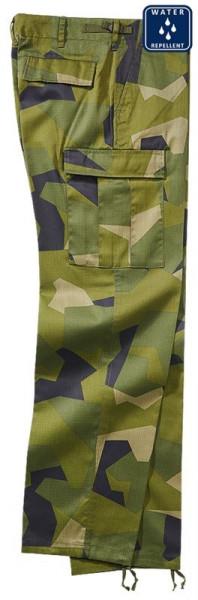 BRANDIT, US Ranger Trousers, swedisch camo M90 / 1006
