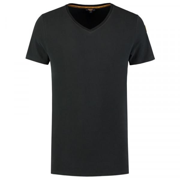 TRICORP, T-Shirt Premium V-Ausschnitt Herren, Black, 104003
