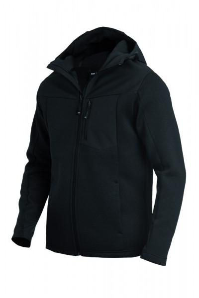 FHB MAXIMILIAN Hybrid-Softshell-Jacke, schwarz