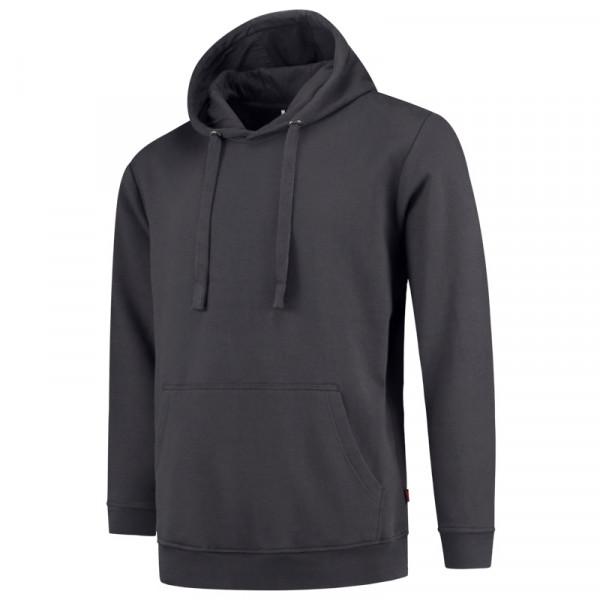 TRICORP, Sweatshirt Kapuze Waschbar 60°C, Darkgrey, 301019