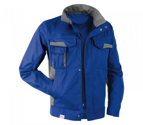 KÜBLER VITA cotton+ Jacke kbl.blau/mittelgrau, 1L453421
