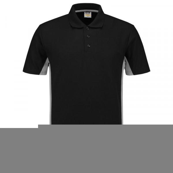 TRICORP, Poloshirt Bicolor, BlackGrey, 202004