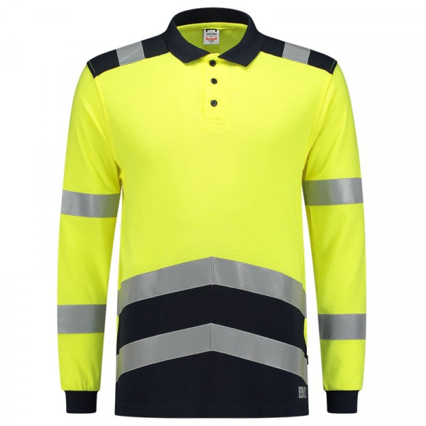 TRICORP, Poloshirt Multinorm Bicolor, Yellowink, 203003