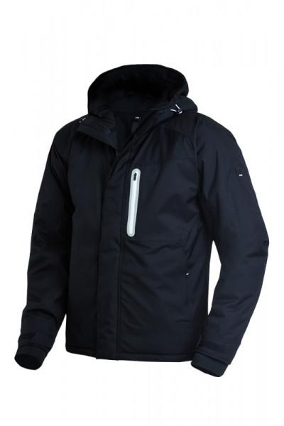 FHB MIKA Winter-Softshell-Jacke, schwarz