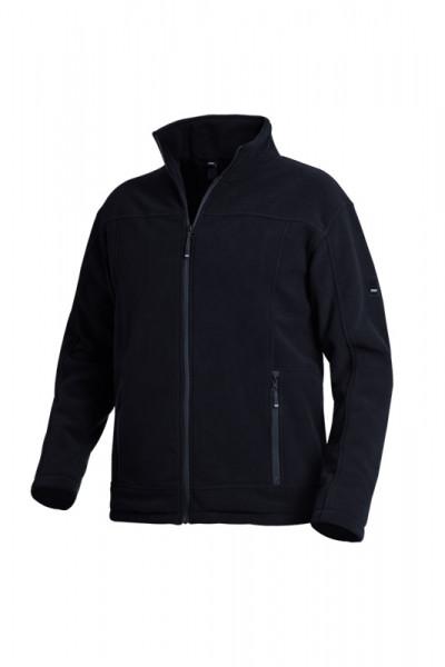 FHB ROMAN Fleece-Jacke, schwarz