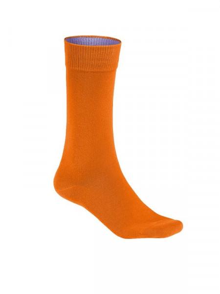 Hakro Socken Premium orange 0933-027