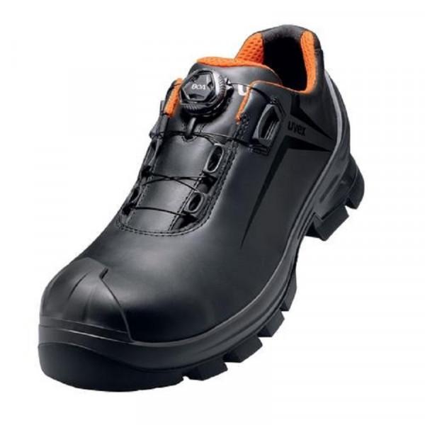 UVEX 2 Vibram Halbschuh mit Boa® Fit schw./orange 65311 W10