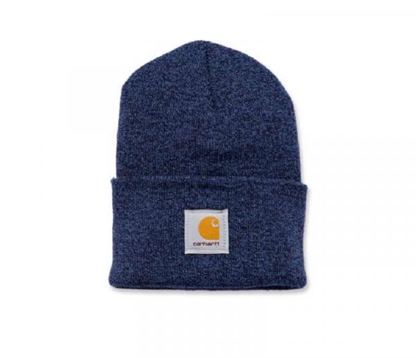 CARHARTT, WATCH HAT, DARK BLUE/NAVY, A18