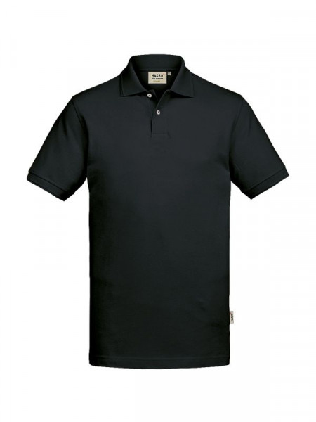 Hakro Poloshirt GOTS-Organic schwarz 0831-005