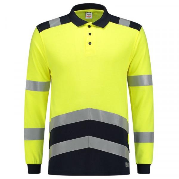 TRICORP, Poloshirt Multinorm Bicolor, Yellowink, 203003