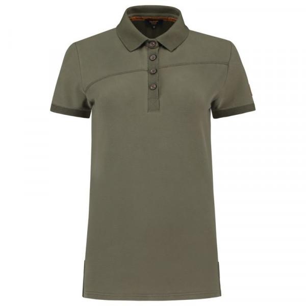 TRICORP, Poloshirt Premium Quernaht Damen, Army, 204003