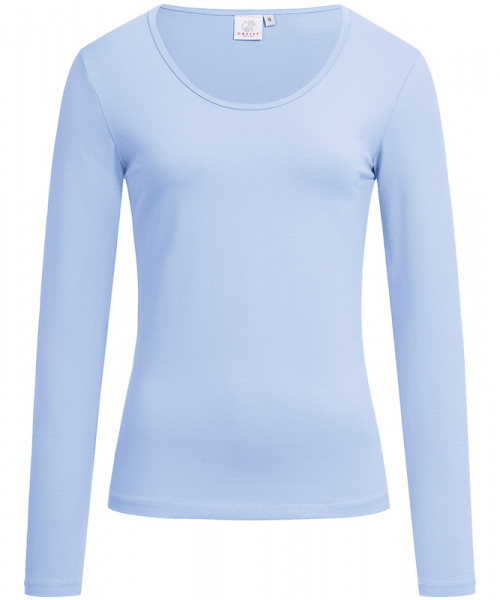 GREIFF Damen-Shirt Rundhals 1/1 bleu Blusen/Hemden/Strick 6860.1405.29 6860 1405 Shirt