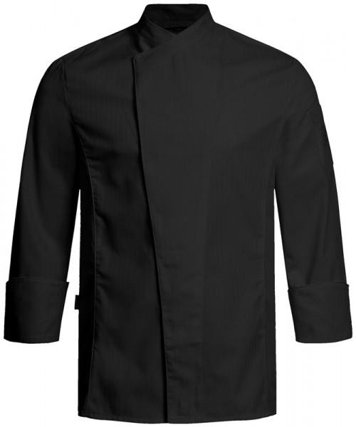 GREIFF H-Kochjacke Regular Fit schwarz Satinstreife Gastromoda Cuisine 5544.2575.10 5544 2575 Koch-