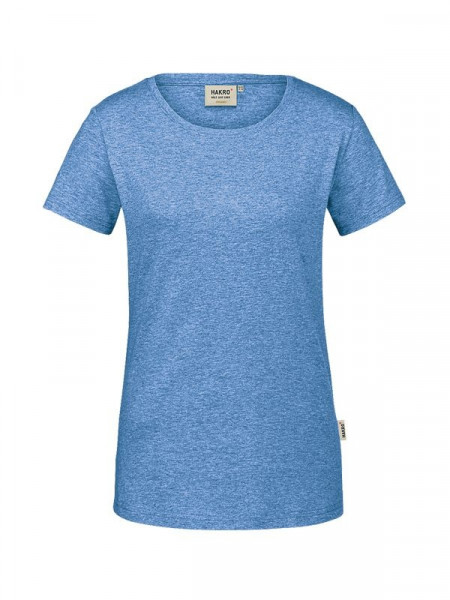 Hakro Damen-T-Shirt GOTS-Organic pastellblau meliert 0171-324
