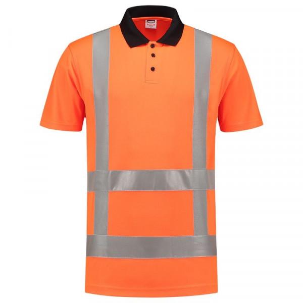 TRICORP, Poloshirt EN ISO 20471 Birdseye, Orange, 203006